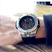 手錶 歐美風新概念時尚潮流男士防水手表學生表男大表盤手表個性石英表 暖心生活館