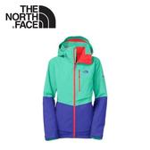 【The North Face 女 HV Primaloft 防水保暖外套《復古綠》】CD96/耐磨/防寒外套/輕量