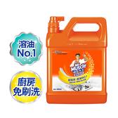 威猛先生 廚房清潔劑-超強效加侖桶 4000ml/4入箱購