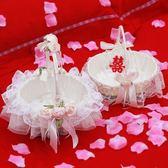 婚禮花童撒花小花籃撒花瓣花籃裝飾用品