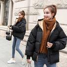 羽絨棉服外套棉衣女2018新款韓版冬季學生面包服加厚短款寬松棉襖外套【快速出貨八折優惠】