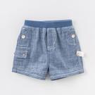 短褲 Dave Bella 小童/大童 淺藍牛仔短褲 褲子 DBA6486