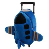 1-6歲兒童旅行拉桿箱幼兒園小學生雙肩書包男女寶寶毛絨玩具背包