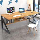 辦公桌電腦桌臺式家用簡約現代單人組合辦公桌臥室學生簡易小書桌寫字臺不含椅子 玩趣3CLX