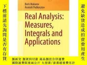 二手書博民逛書店真實分析:測量,積分和應用罕見Real Analysis: Me