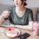 【GZ3E1】短袖T恤 韓版寬鬆複古時尚...