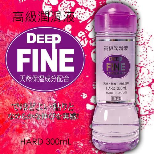 日本NPG-DEEP FINE 極潤保湿配方潤滑液(高黏度)-300ML-特