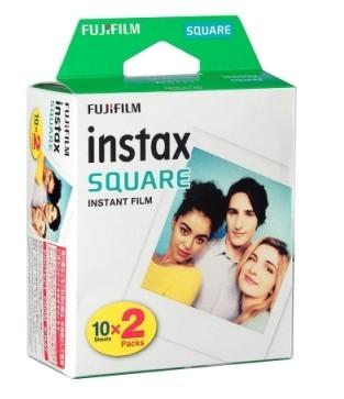 【2022-10月份】【20張】FUJIFILM Instax square SQ10 SQ20 SQ6 SP-3 拍立得 方形 相紙 方型相片 空白底片 軟片