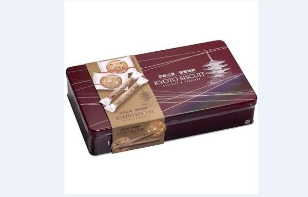盛香珍 京都之賞懷舊燒餅禮盒【合迷雅好物超級商城】