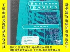 二手書博民逛書店Business罕見BASICS ACCOUNTING 3RD