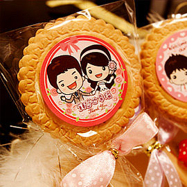 婚禮小物-古早味系列─200枝甜蜜蜜麥芽餅-二次進場/送客禮/姊妹禮/伴手禮 幸福朵朵