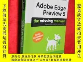 二手書博民逛書店Adobe罕見Edge Preview 5 (16開) 【詳見圖