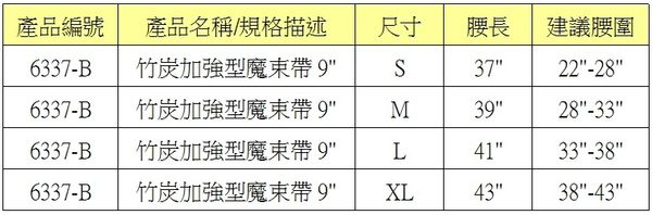 【皇家竹炭】竹炭魔束腰帶9吋-加強版 (束腰帶)