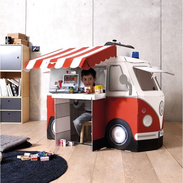 【下殺特惠】JAKO-O德國野酷-VW紙製快餐車