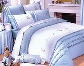 【1929居家生活館 】比得兔 237雙人西式兩用床包組(七件式) - 加贈羽絨枕乙對