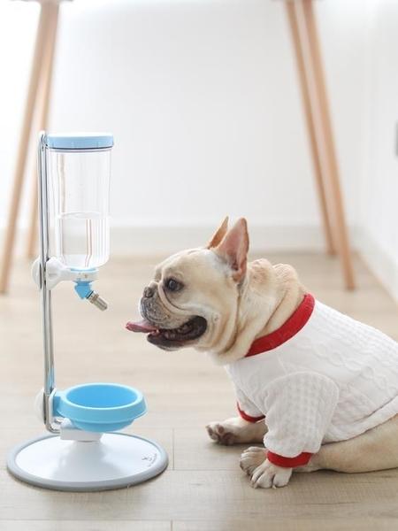 台灣大帝都狗狗立式飲水器法斗泰迪寵物護頸掛式自動飲水機喝水壺 秋季新品