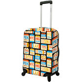 《DQ》24吋行李箱套(城市)