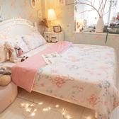 【預購】樂園氣球兔 D3雙人床包與雙人新式兩用被五件組 100%精梳棉 台灣製 棉床本舖