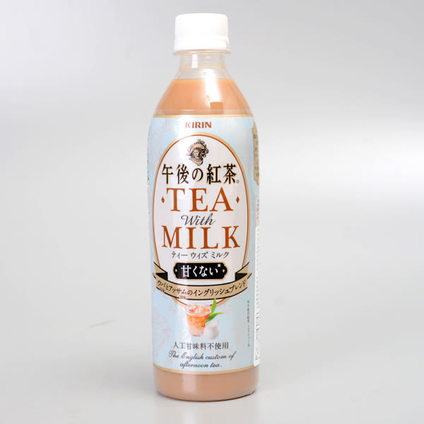 【kirin】午後紅茶Tea with milk奶茶500ml (賞味期限:2019.09.10)