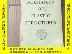 二手書博民逛書店mechanics罕見of elastic structures(P1062)Y173412