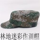 軍迷戶外用品夏季蟒紋迷彩帽子特種兵男 07作訓帽戰術平頂帽 生活樂事館