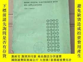 二手書博民逛書店basic罕見digital electronics with MSI applications(P2319)