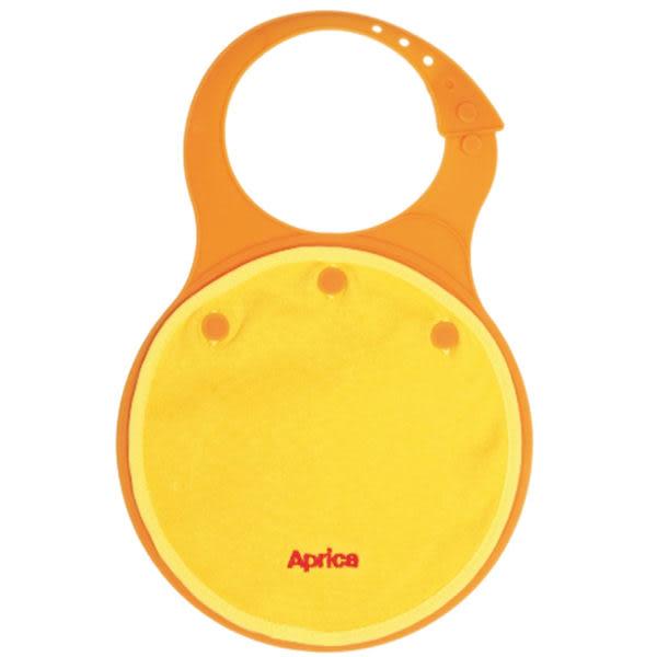 【促銷】愛普力卡Aprica 柔軟型餐用圍兜兜(橘/黃/綠)