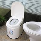 移動馬桶老人坐便器孕婦老年人坐便椅成人便攜家用塑料座便器防臭 小山好物