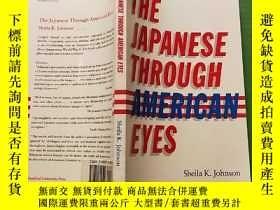二手書博民逛書店THE罕見JAPANESE THROUGH AMERICAN E
