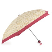 COACH 經典滿版C LOGO晴雨傘(胭脂紅)193717-15