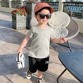 嬰兒工裝短褲夏裝夏季男童兒童裝中褲子寶寶1歲3小童洋氣潮X2436 幸福第一站