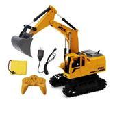 遙控車 遙控挖掘機超大號成人兒童電動玩具遙控工程車充電無線合金【快速出貨八折優惠】