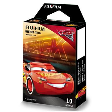 【聖影數位】FUJIFILM instax mini 汽車總動員 (閃電麥昆版) 富士mini底片《Cars 3》拍立得底片