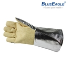 【醫碩科技】藍鷹牌 耐熱防火手套 (杜邦防火材料製作) 瞬間耐熱測試達1000度C 防火線縫製 AL-145