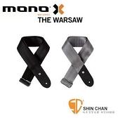 mono背帶► 美國MONO THE Warsaw 吉他背帶/貝斯背帶 簡約設計奢華用料GS1-WAR(採用汽車安全帶材質)