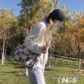 日系古著感森系毛絨包包韓國INS網紅羊羔毛軟妹可愛斜挎包單肩包