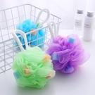 [拉拉百貨]海綿沐浴起泡球超柔起泡沐浴球 搓澡巾沐浴花 起泡器 隨機出貨