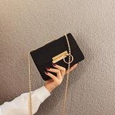 小包包女2019流行新款潮百搭質感帆布ins斜挎包高級感鏈條手機包 【Ifashion·全店免運】