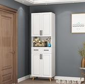 北歐鞋櫃家用大容量進門口玄關櫃簡約經濟型現代門廳櫃陽台儲物櫃MBS「時尚彩紅屋」