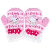 Sanrio HELLO KITTY小童用連指手套(蝴蝶結)★funbox★ _846350N