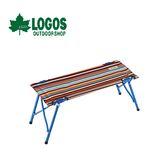 【LOGOS 日本 條紋雙人長凳】73176003/折合椅/板凳/戶外折疊椅