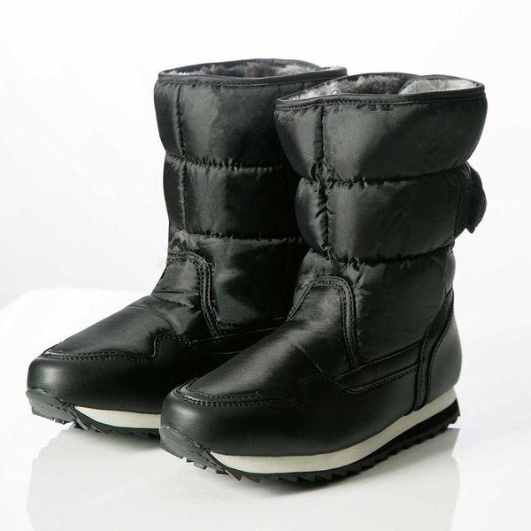 PolarStar 女 保暖雪鞋│雪靴│冰爪 『黑』P13621 (內厚鋪毛/ 防滑鞋底) 雪地靴.雪地必備