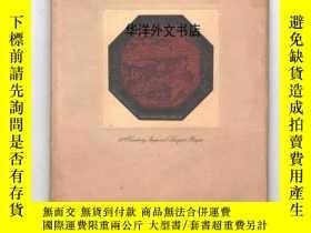 二手書博民逛書店【罕見】1925年出版 A Selection of Orien