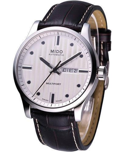 MIDO Multifort 系列 大錶徑皮帶腕錶 M00543011031
