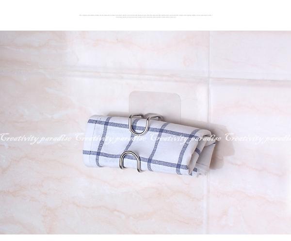 【臉盆掛架】衛浴室無痕黏膠不鏽鋼掛勾架 浴盆不銹鋼收納架 砧板架 面盆置物架 掛勾架