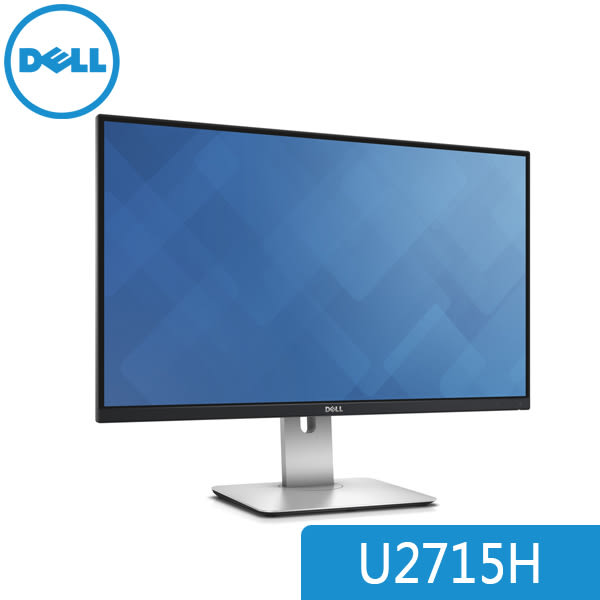 【免運費-加購】DELL 戴爾 UltraSharp U2715H  27吋 IPS 廣色域顯示器 / 原廠三年保 含 優質面板保證