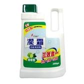 花仙子 潔霜 地板清潔劑-檸檬香 2000gm【康鄰超市】