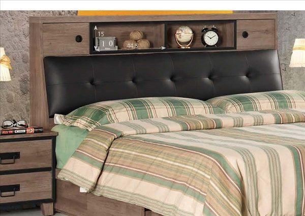 【新北大】✪ B013-6 哈珀6尺被櫥床頭(不含其他物品)-18購