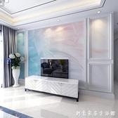 北歐羽毛現代簡約大理石紋電視機背景墻客廳影視墻紙壁紙臥室壁畫 創意家居