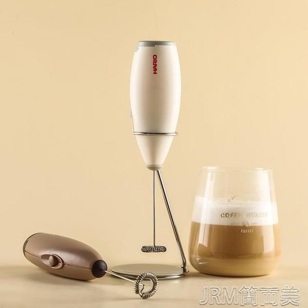 奶泡器咖啡拉花手持電動打奶泡器奶泡機牛奶打泡器奶泡桿CZ JRM簡而美